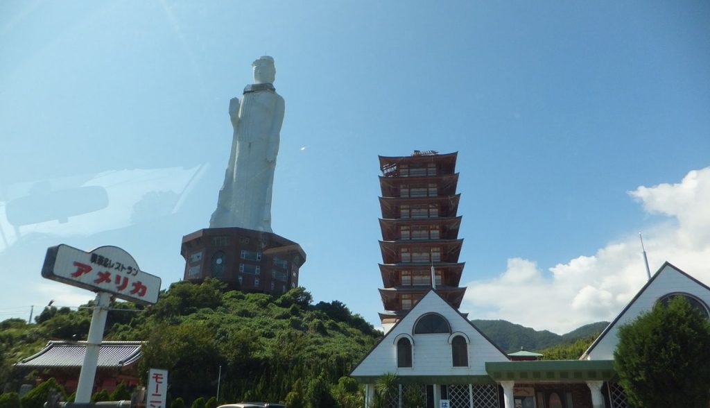Awaji Kannon is one of the Tallest Statues in the World