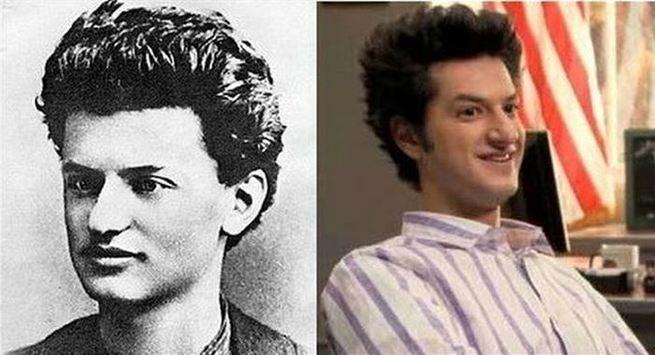 Ben Schwartz and Leon Trotsky