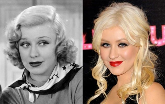 Christina Aguilera and Ginger Rogers