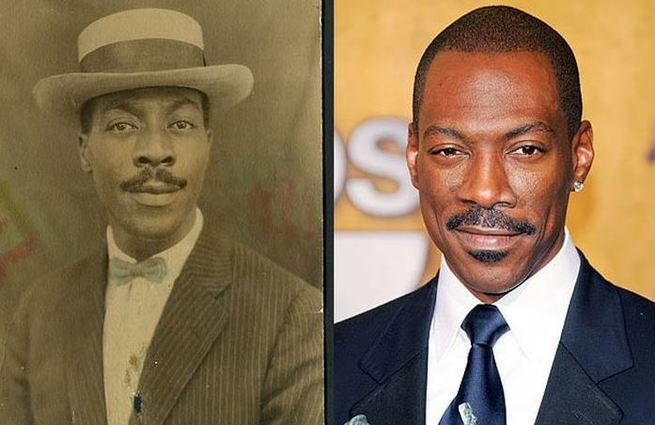 Eddie Murphy and an unknown man from past.