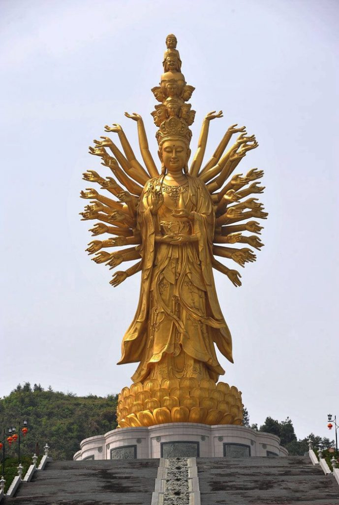 Guishan Guanyin is one of the Tallest Statues in the World
