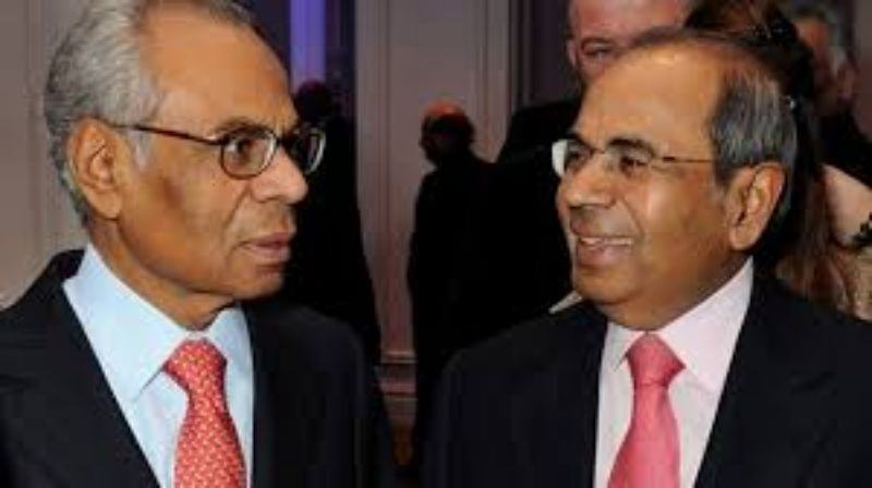 Hinduja Brothers is the top 10 richest person in india