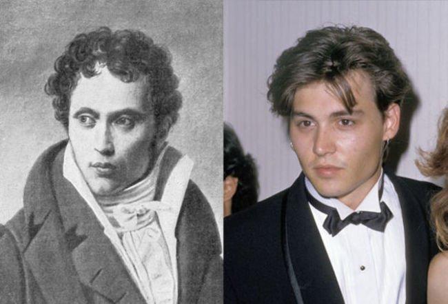 Johnny Depp and German Philosopher Arthur Schopenhauer