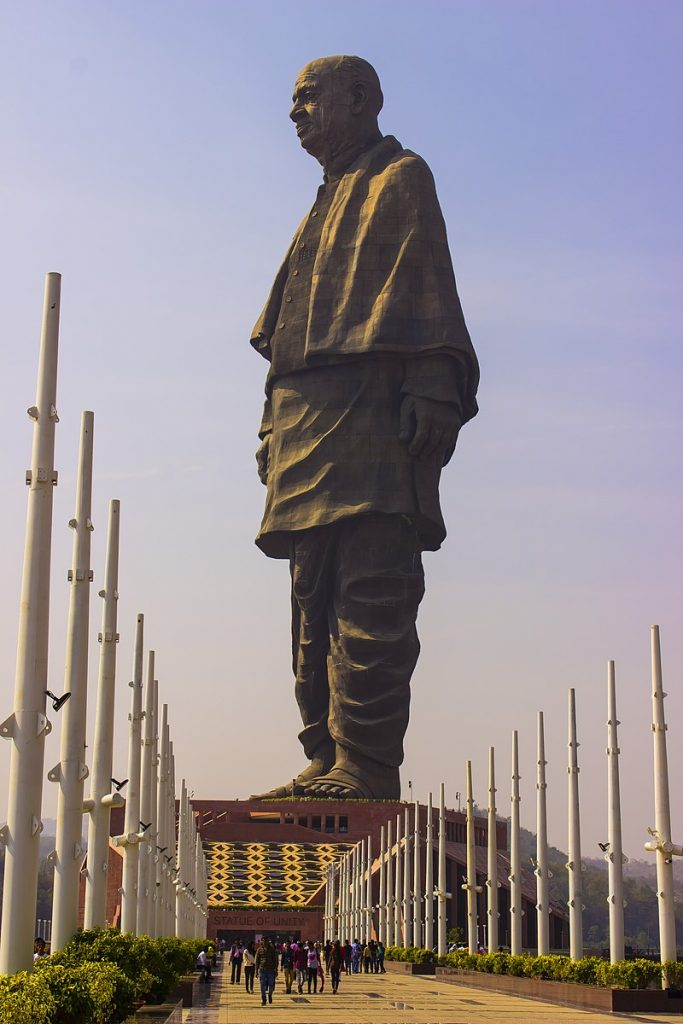Sardar Vallabhbhai Patel is one of the Tallest Statues in the World