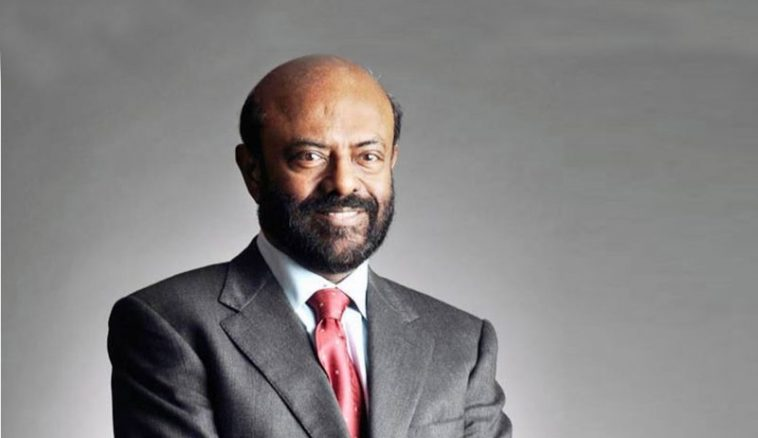 Shiv Nadar is the top 10 richest person in india