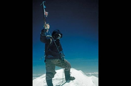 Tenzing-Norgay-on-Everest's-Summit-—-1953 instresting history event
