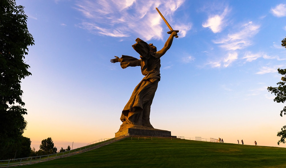 The Motherland Calls is one of the Tallest Statues in the World