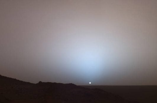 The-Sun-Setting-On-Mars-—-2005 instresting history event