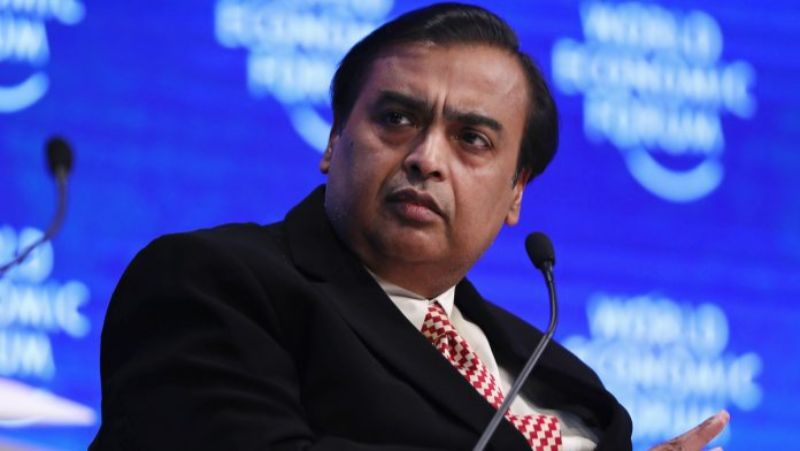 mukesh ambani is the top 10 richest person in india