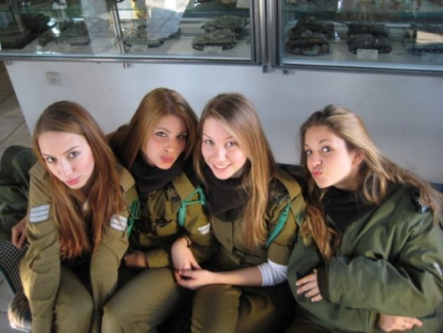 Israel Army is the Countries With The Most Beautiful Female Armies