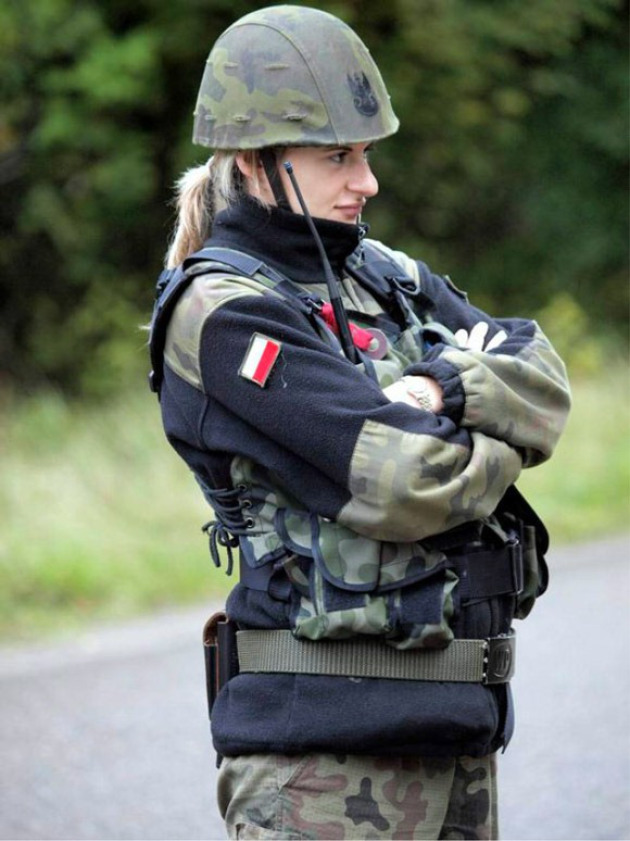 Polish Army is the Countries With The Most Beautiful Female Armies