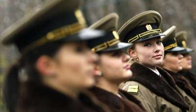 Romanian Army is the Countries With The Most Beautiful Female Armies