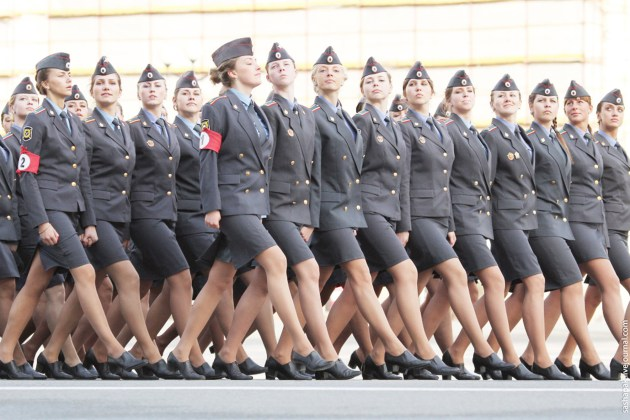 Russian Army is the Countries With The Most Beautiful Female Armies