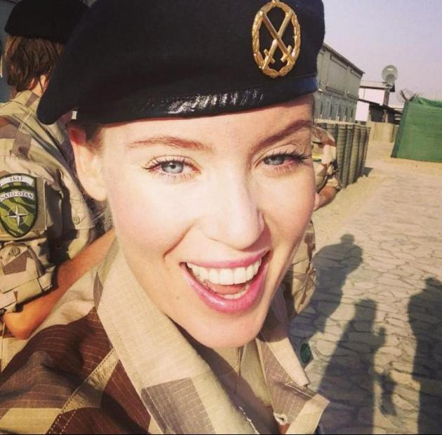 Swedish Army is the Countries With The Most Beautiful Female Armies