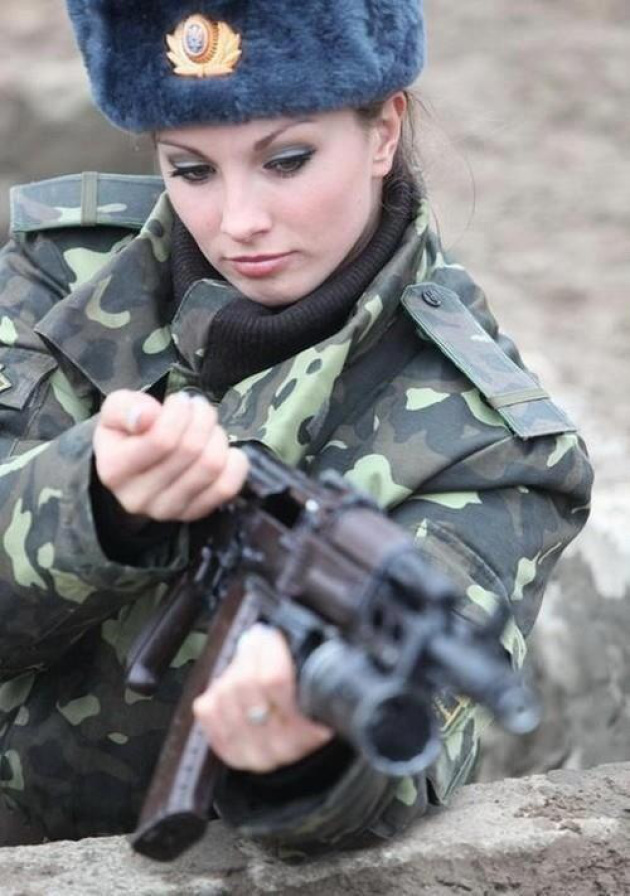 Ukraine Army is the Countries With The Most Beautiful Female Armies