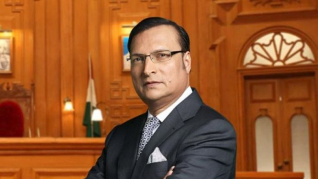 Rajat Sharma is the top 10 Best & Most Popular News Anchors in India