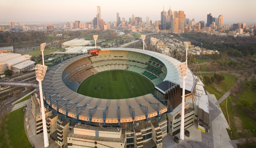 Melbourne Cricket Ground is one of the Top 10 Biggest Stadiums In The World