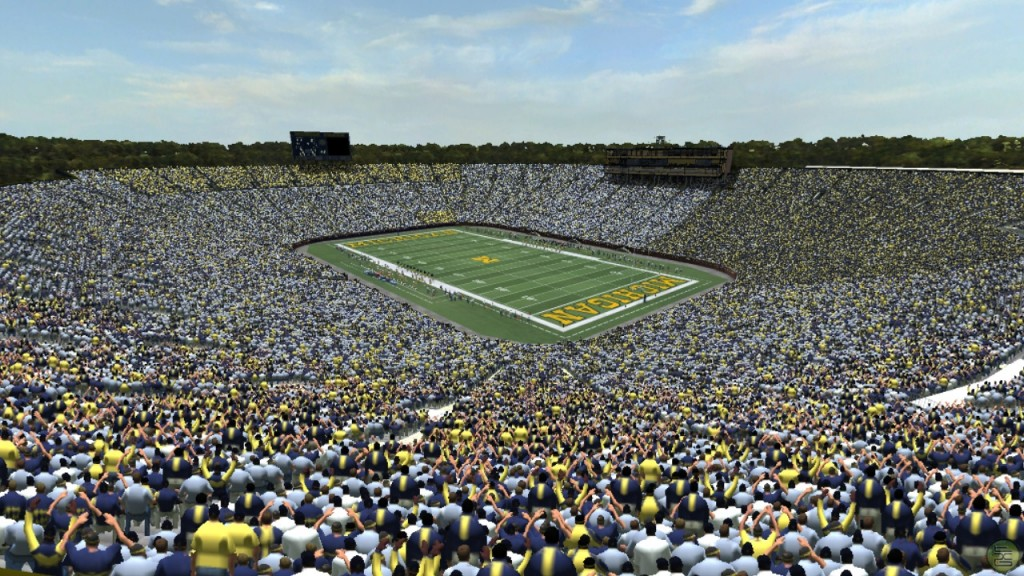 Michigan Stadium is one of the Top 10 Biggest Stadiums In The World