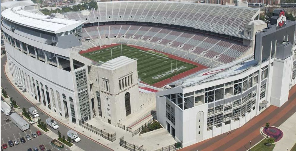 Ohio Stadium is one of the Top 10 Biggest Stadiums In The World