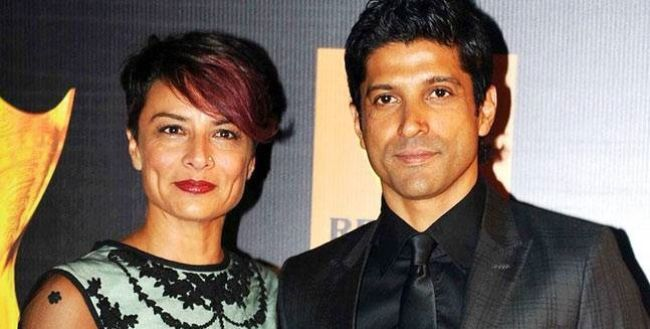 Adhuna Bhabani and Farhan Akhtar are Bollywood Couples Who Choose Love Above Religion and did inter religion marrige