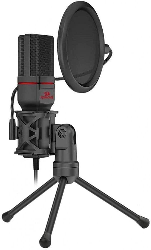 Redragon Seyfert GM100 Professional Gaming Microphone with Pop Filter